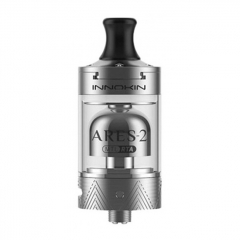 Authentic Innokin Ares 2 D24 MTL RTA Rebuildable Tank Atomizer 4ml - Silver