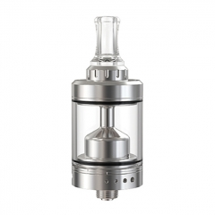 Authentic Phevanda Memo MTL 22mm 316SS RTA Atomizer 3.5ml - Silver