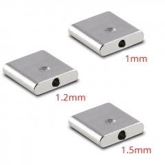 ULTON Airdisks for Typhoon GX 1 Hole (3pcs) - Silver