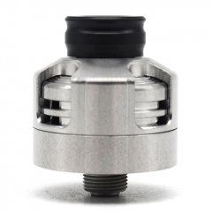 (Ships from Germany)Engine Style 22mm RDA Rebuildable Dripping Atomizer w/ BF Pin - Silver