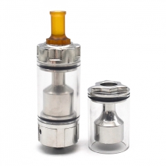 (Ships from Germany)ULTON Major V2 Style 22mm RTA w/ Extra Drop Kit - Silver