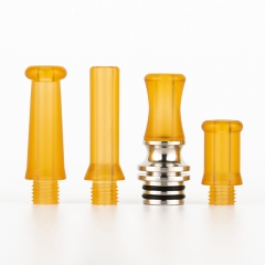 Reewape Replacement SS 4-in-1 510 Drip Tip #T1 - Yellow
