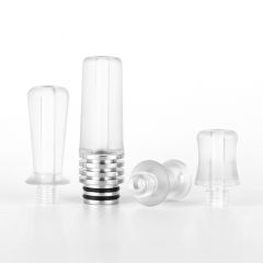 Reewape Replacement SS 4-in-1 510 Drip Tip #T2 - White