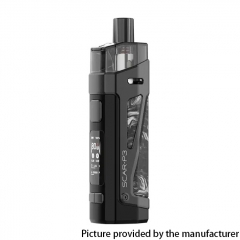 Authentic SMOKTech SMOK SCAR-P3 80W 2000mAh VW Box Mod Pod System Vape Starter Kit - Black White