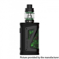 Authentic SMOKTech SMOK SCAR-18 230W VW Mod Vape Starter Kit with TFV9 Tank 18650 - Fluid Green
