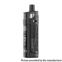 Authentic SMOKTech SMOK SCAR-P3 80W 2000mAh VW Box Mod Pod System Vape Starter Kit - Fluid Black