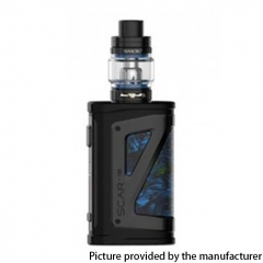 Authentic SMOKTech SMOK SCAR-18 230W VW Mod Vape Starter Kit with TFV9 Tank 18650 - Fluid Blue