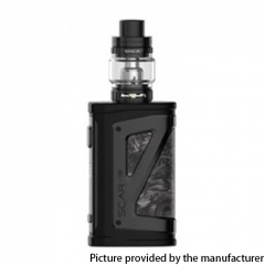 Authentic SMOKTech SMOK SCAR-18 230W VW Mod Vape Starter Kit with TFV9 Tank 18650 - Black White