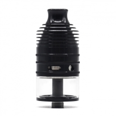 ULTON Typhoon GX 23mm 316SS Style RTA 4ml(1:1) - Black