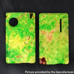 SXK Replacement Stablized Wood Front + Back Door Panel Plates for dotMod dotAIO Kit - Green