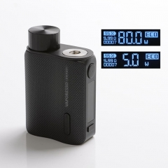 Authentic Vaporesso SWAG II 80W VW 18650 Box Mod - Black