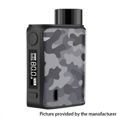 Authentic Vaporesso SWAG II 80W VW 18650 Box Mod - Camo Grey