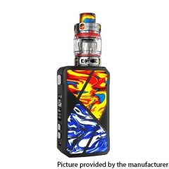 Authentic FreeMax Maxus 200W TC VW Box Mod + M Pro 2 Tank 5ml 18650 Vape Kit - Red Blue