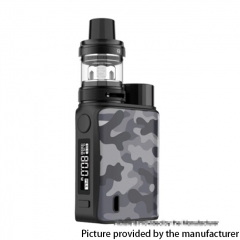 Authentic Vaporesso SWAG II 80W VW 18650 Box Mod w/ NRG PE Tank Atomizer Kit 3.5ml - Camo Gray