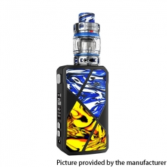Authentic FreeMax Maxus 200W TC VW Box Mod + M Pro 2 Tank 5ml 18650 Vape Kit - Blue Yellow