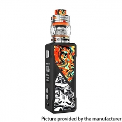 Authentic FreeMax Maxus 100W TC VW Box Mod + Fireluke 3 Tank Vape Kit Resin Edition - Orange Black