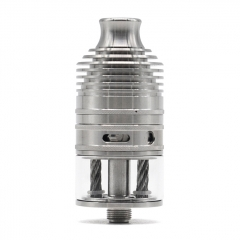Vazzling Typhoon GX 23mm Style RTA 4ml- Silver