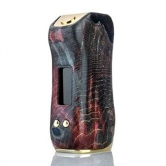 Authentic Asvape Gabriel 80W 18650 TC VW APV Stabilized Wood Box Mod - Random Color Gold Trim