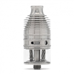 ULTON Typhoon GX 23mm 316SS Style RTA 4ml (No Logo) - Silver