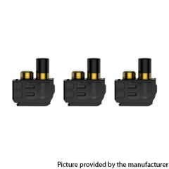 Authentic SMOKTech SMOK Mag 40W Pod Replacement Empty RPM Pod Cartridge 3ml (3pcs) - Gold