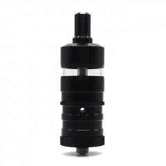 (Ships from Germany)YFTK Fev V4.5S+ Style 23mm RTA Rebuildable Tank Vape Atomizer 4.5ml - Black
