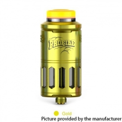 Authentic Wotofo Profile 25mm RDTA / RDA w/BF Pin 6.2ml - Gold