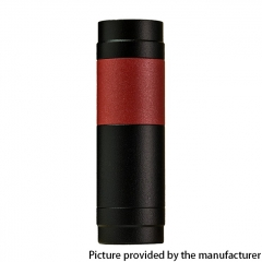 El Th MTLite Style 18350/18650 Mechanical Mod - Black Red