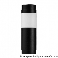 El Th MTLite Style 18350/18650 Mechanical Mod - Black White