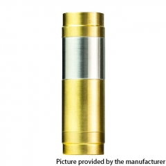 El Th MTLite Style 18350/18650 Mechanical Mod - Gold Silver