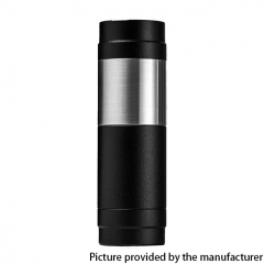 El Th MTLite Style 18350/18650 Mechanical Mod - Black Silver