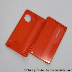 Replacement Front + Back Door Panel Plates for dotMod dotAIO/ SE Vape Pod System - Red