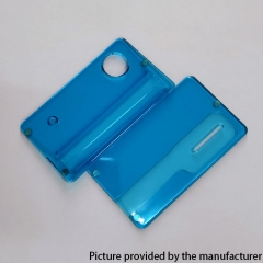 Replacement Front + Back Door Panel Plates for dotMod dotAIO/ SE Vape Pod System - Blue