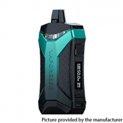 Authentic Vaporesso XIRON 50W 1500mAh VW Pod System Vape Mod Kit 5.5ml - Green