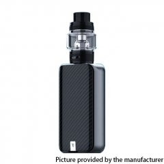 Authentic Vaporesso LUXE II 220W VW 18650 Box Mod w/NRG-S Tank 8ml Kit - Black