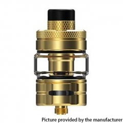 Authentic Hellvape & Wirice Launcher 25mm Sub Ohm Tank Clearomizer 4/5ml - Gold