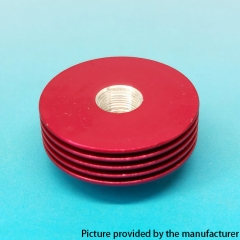 Replacement Aluminum Heat Insulation Gasket for 27mm Atomizers - Red