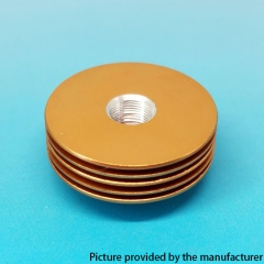 Replacement Aluminum Heat Insulation Gasket for 27mm Atomizers - Gold