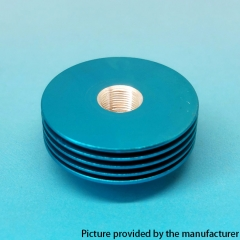 Replacement Aluminum Heat Insulation Gasket for 27mm Atomizers - Blue