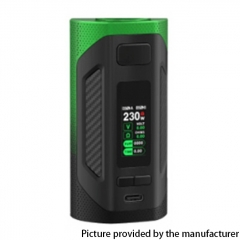 Authentic SMOKTech SMOK Rigel 230W VW Box Mod 18650 - Green