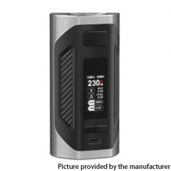 Authentic SMOKTech SMOK Rigel 230W VW Box Mod 18650 - Silver