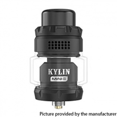 Authentic Vandy Vape Kylin Mini V2 24.4mm RTA 3ml/5ml - Black