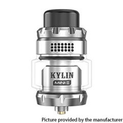 Authentic Vandy Vape Kylin Mini V2 24.4mm RTA 3ml/5ml - Silver