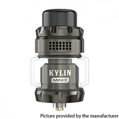 Authentic Vandy Vape Kylin Mini V2 24.4mm RTA 3ml/5ml - Gun Metal