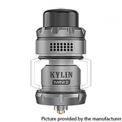 Authentic Vandy Vape Kylin Mini V2 24.4mm RTA 3ml/5ml - Frosted Gray