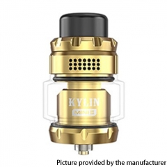 Authentic Vandy Vape Kylin Mini V2 24.4mm RTA 3ml/5ml - Gold