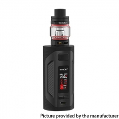 Authentic SMOKTech SMOK Rigel 230W VW Box Mod 18650 +TFV9 Sub Ohm Tank Kit - Black