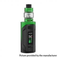 Authentic SMOKTech SMOK Rigel 230W VW Box Mod 18650 +TFV9 Sub Ohm Tank Kit - Green