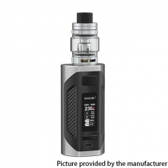 Authentic SMOKTech SMOK Rigel 230W VW Box Mod 18650 +TFV9 Sub Ohm Tank Kit - Silver