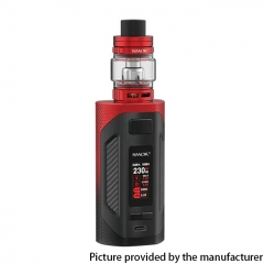 Authentic SMOKTech SMOK Rigel 230W VW Box Mod 18650 +TFV9 Sub Ohm Tank Kit - Red