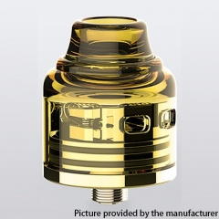 Authentic Oumier Wasp Nano S Dual-Coil 25mm RDA w/BF Pin - Gold